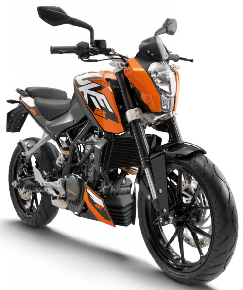 ktm duke 125 a 2014 orange. Black Bedroom Furniture Sets. Home Design Ideas