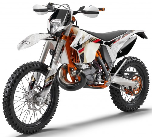 ktm exc 250 e sixdays 2013 weiss. Black Bedroom Furniture Sets. Home Design Ideas