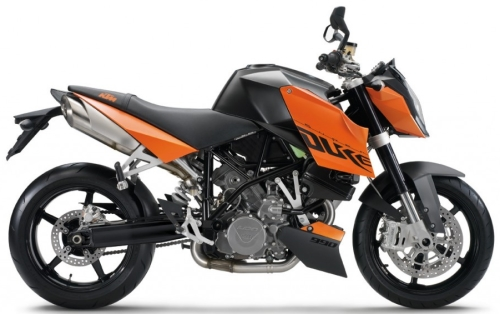 KTM LC8 990 SuperDuke 2010, Orange