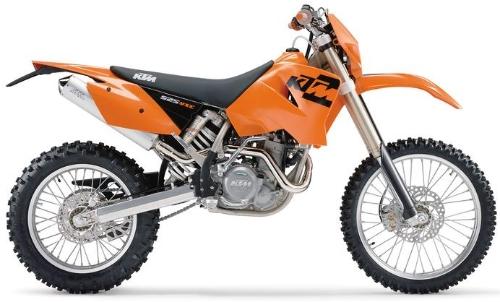 Ktm  Mxc Desert Racing