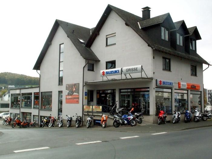 Zweirad GRISSE Firmengebäude in der Kölner Strasse 188 in 57290 Neunkirchen/Siegerland
